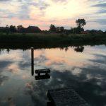 Zonsopkomst in Friesland