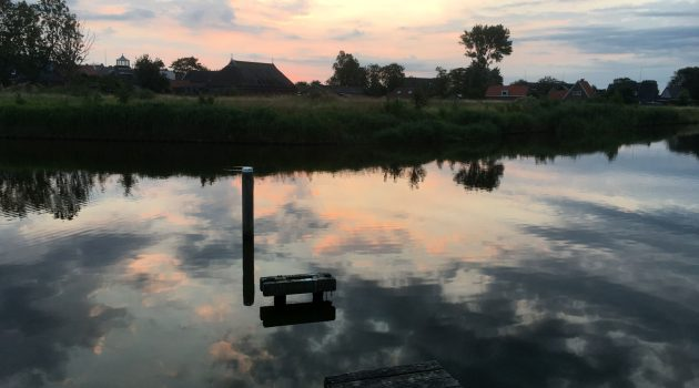 Zonsopkomst in Friesland