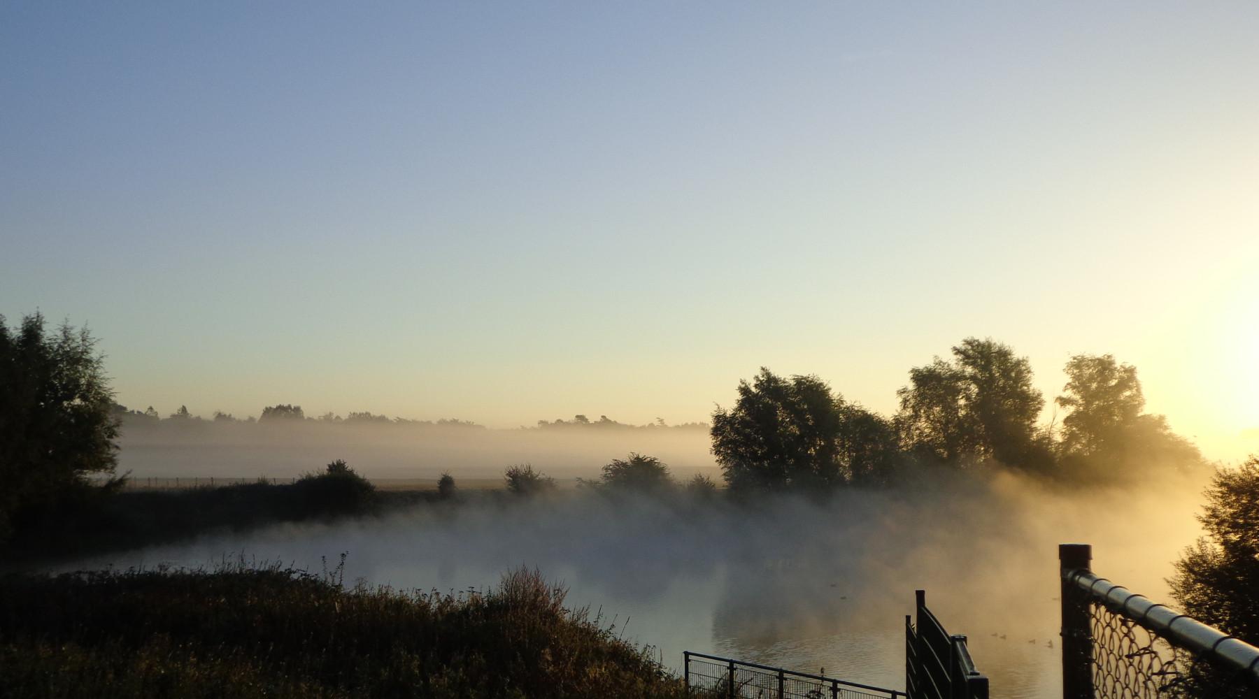 Mist over de Maas Oktober 2016 - 2