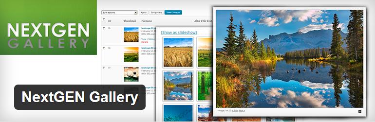 Nextgen WordPress Foto Blog Plugin